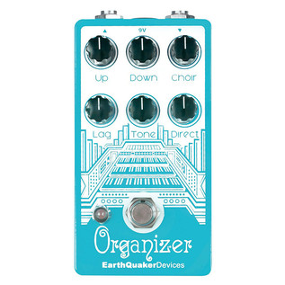 EarthQuaker Devices Organizer Polyphonic Organ Emulator Top Panel