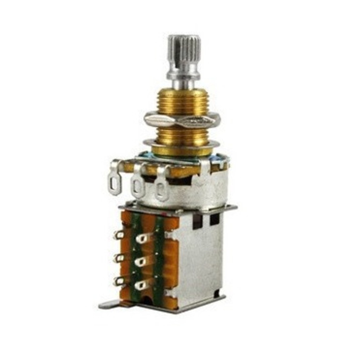 Image of Allparts 500K Push/Push Log Taper Potentiometer
