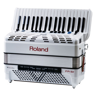 Roland FR-3X V-Accordion, White