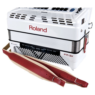 Roland FR-3X V-Accordion, White
