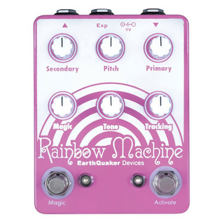 EarthQuaker Devices Rainbow Machine Pitch Shifting Harmonizer Top Panel