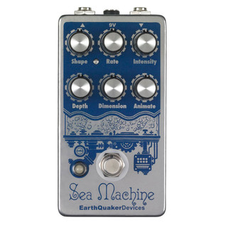 EarthQuaker Devices Sea Machine V2 Chorus Top Panel