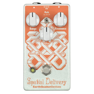 EarthQuaker Devices Spatial Delivery Envelope Filter Top Panel