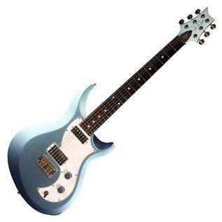 PRS S2 Vela Electric Guitar, Ice Blue Firemist