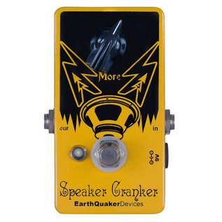EarthQuaker Devices Speaker Cranker Overdrive Top Panel