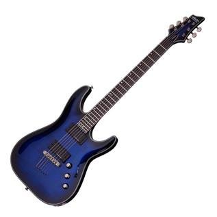 Schecter Blackjack SLS C-1 A Electric Guitar,See-Thru Blue Blast