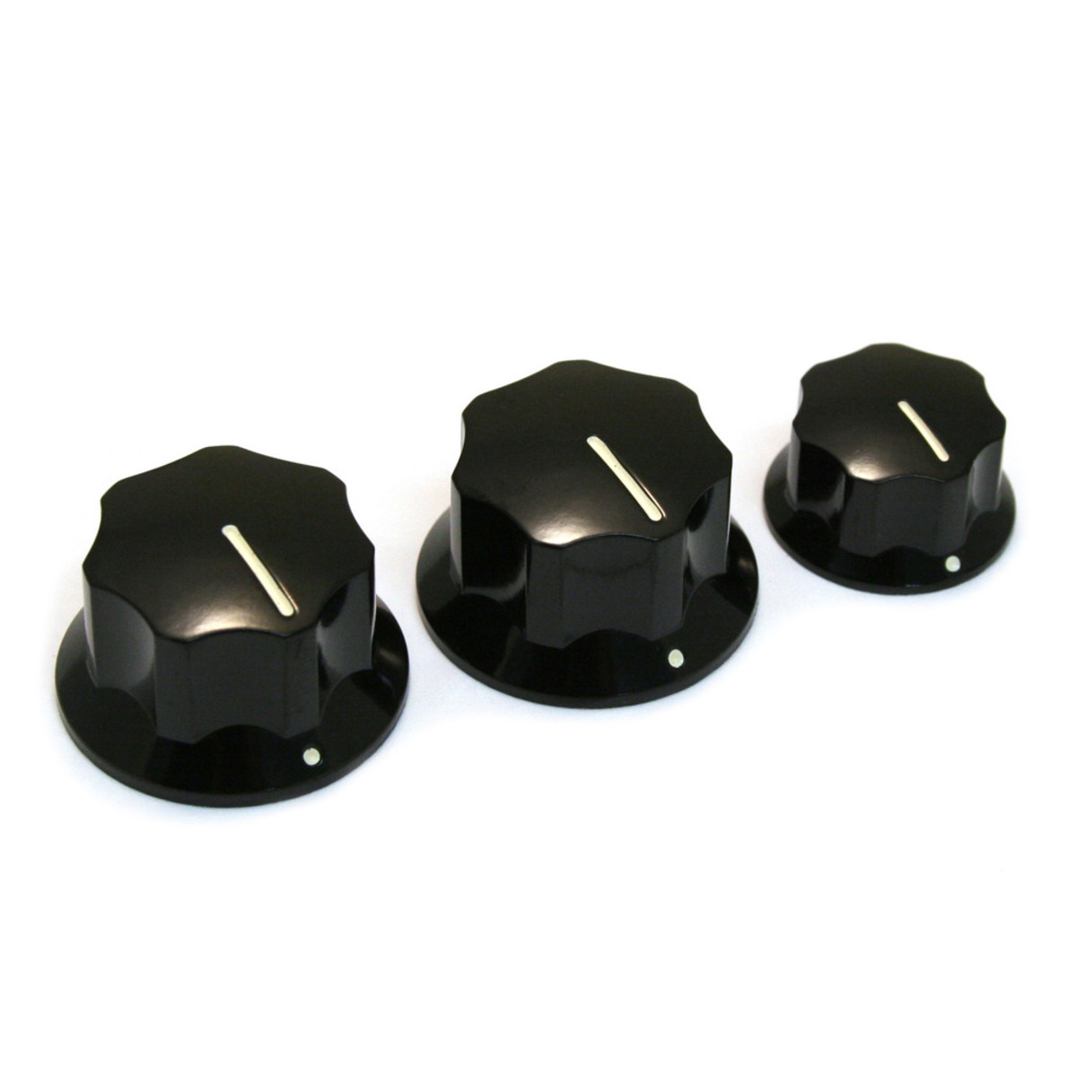 allparts knob set for jazz bass black at. Black Bedroom Furniture Sets. Home Design Ideas