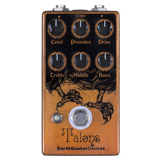 EarthQuaker Devices Talons High Gain Overdrive Top Panel