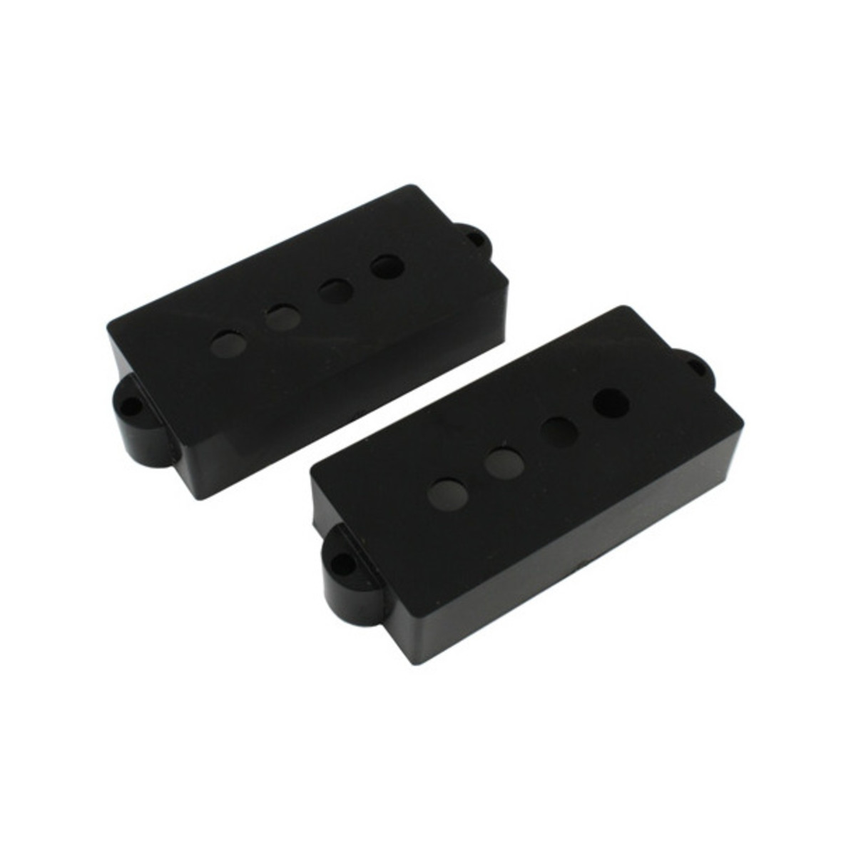 Image of Allparts Pickup Cover Set for Precision Bass® Black