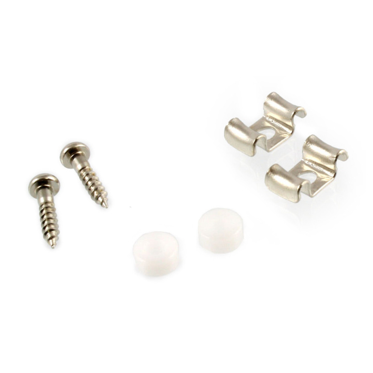 Image of Allparts String Guides For Guitar Nickel