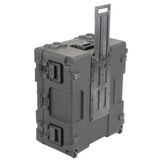 SKB R Series 3025-15 Waterproof Case (With Cubed Foam) - Side View With Handle