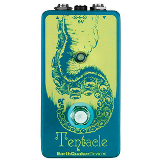 EarthQuaker Devices Tentacle Analog Octave Up Top Panel
