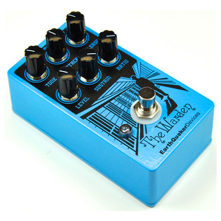 EarthQuaker Devices The Warden Optical Compressor Side