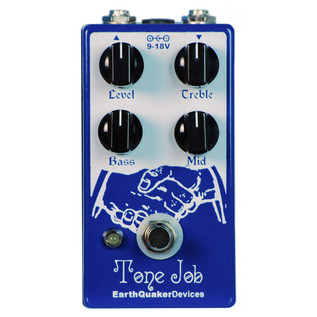 EarthQuaker Devices Tone Job EQ and Booster Top Panel