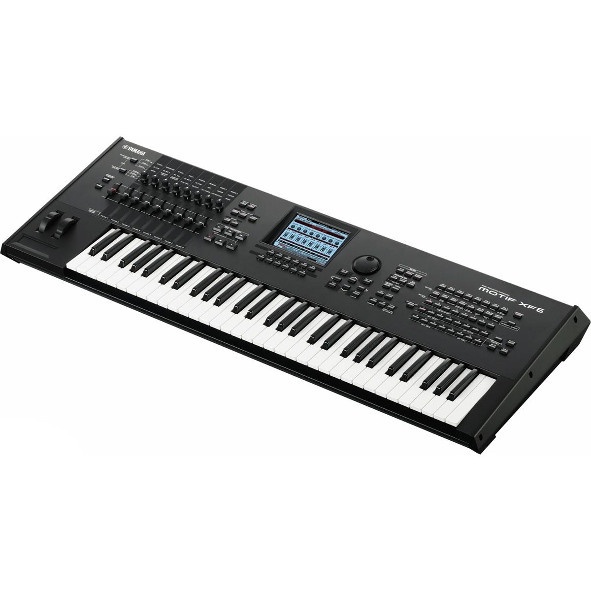 Daw Keyboard Workstation : yamaha motif xf6 keyboard workstation b stock at ~ Russianpoet.info Haus und Dekorationen