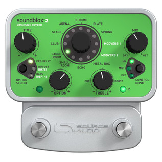 Source Audio Dimension Reverb Front