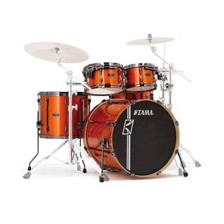 Tama Superstar Hyperdrive Maple 6 Pc Shell Pack, Orange Metallic