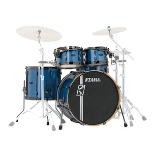 Tama Superstar HyperDrive Maple 5pc Shell Pack, Vintage Blue Metallic