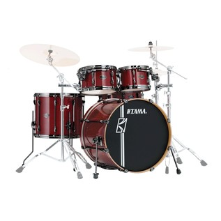 Tama Superstar HyperDrive Maple 5Pc Shell Pack, Classic Cherry Wine
