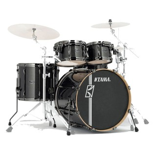 Tama Superstar Hyper-Drive Maple 5Pc Shell Pack, Midnight Gold Sparkle
