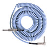 Lave câble bobine rétro angle Cable Instrument 20ft, Carolina Blue