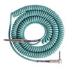 Lava kabel Retro Coil vinklet maskinen kabelen 20ft, Sea Foam Green