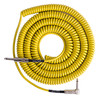 Lava Cable Retro spiraal gedraaid Instrument kabel 20ft, geel