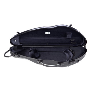 Bam 2000XL Connection Hightech Slim Violin Case, Black