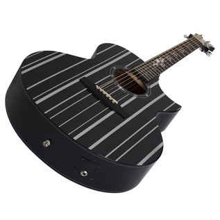 Schecter Synyster Electro Acoustic Guitar, Black