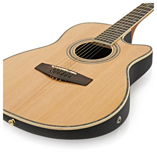 Roundback Electro Acoustic Guitar by Gear4music
