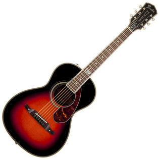 Fender Ron Emory 'Loyalty' Parlor Acoustic Guitar, Sunburst