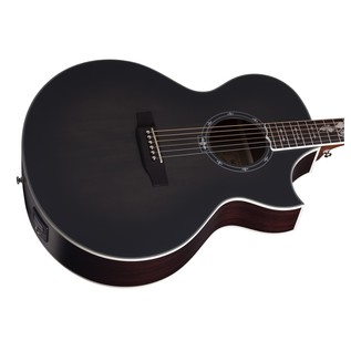 Schecter Synyster SYN GA SC Electro Acoustic Guitar, Trans Black Burst