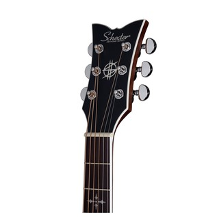 Schecter Synyster SYN GA SC Electro Acoustic Guitar, Black