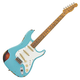 Fender Custom Shop Limited Heavy Relic Mischief Maker, Blue/Sunburst