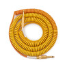 Lava kabel Morph Coil Instrument kabel 25ft,    Orange gult