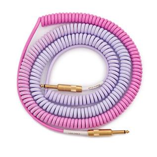Lava Cable Morph Coil Instrument Cable 25ft, Purple to Blue