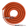 Lava Cable Retro Coil Instrument Cable 20ft, Orange