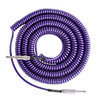 Lava Cable Retro Coil Instrument Kabel 6 m, Metallic lilla