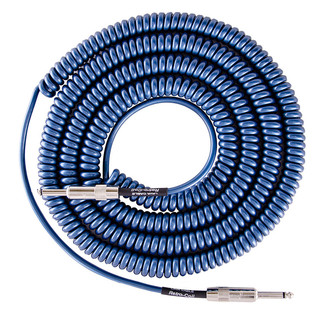 Lava Cable Retro Coil Instrument Cable 20ft, Metallic Blue  Image