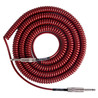 Lava Cable Retro Coil Instrument Cable 20ft, Metallic Red