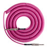 Lava kabel Retro spole Instrumentkabel 20ft, Hot Pink