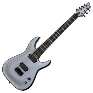 Schecter Keith Merrow KM-7 Electric Guitar, Trans White