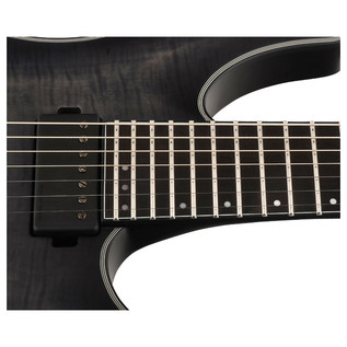 Schecter Keith Merrow KM-7 Electric Guitar, Trans Black Burst