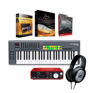 Focusrite Scarlett 2i2 Player Bundle (2nd Gen)