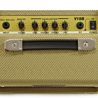 SubZero V15B Vintage 15W Bass Combo Amp