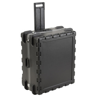 SKB MR Series Pull Handle Case (2921) - Angled With Handle Extended