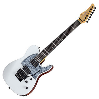 Schecter Wes Hauch PT-7 FR Electric Guitar, Satin White