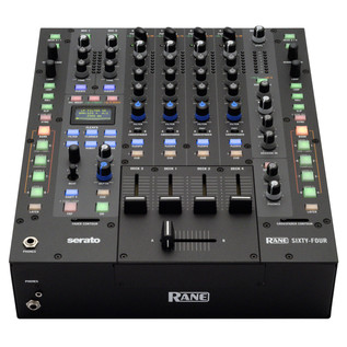 Rane Sixty-Four 4 Channel DJ Mixer - Bottom