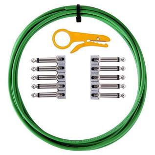 Lava Cable TightRope Solder Free Pedal Board Kit, Riddler Green Image