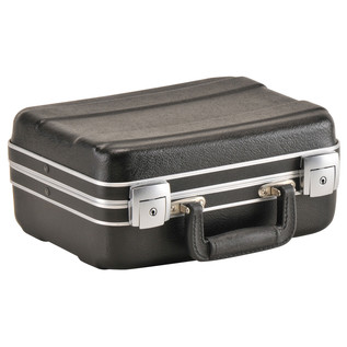 SKB Luggage Style Transport Case (1108-01) - Angled Closed 3